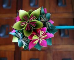 Flores de papel  FLORES DE PAPEL