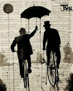 The Umbrella Impressão artística