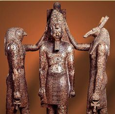 Egypt Picture - Horus and Seth Crown Ramesses III Ancient Egyptian Religion, Egyptian Mythology, Ancient Art, Ancient History, Cairo Museum, Kemet Egypt, African History, Gods And Goddesses, Deities