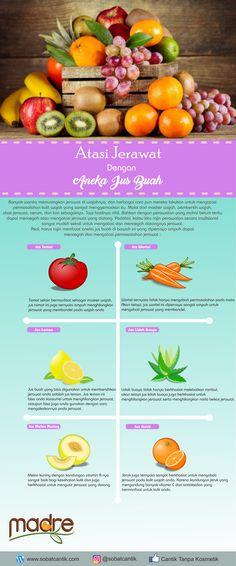 Tidak hanya enak untuk diminum, ternyata beberapa jus buah ini dapat membantu mengatasi masalah jerawat.