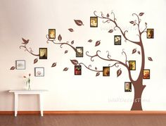 Tree Wall Decal Photo Wall Nature Wall Decal by WallDecalsTime, $79.00