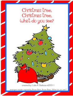 Christmas Predictable Book - Re-pinned by @PediaStaff – Please Visit http://ht.ly/63sNt for all our pediatric therapy pins