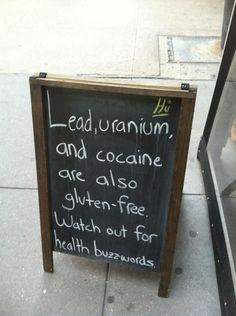Beware of health buzzwords.