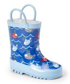5bf4bfa199c Chatties Submarine Rain Boot