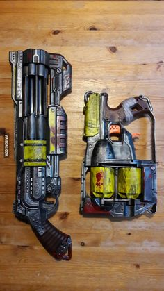 First try to custom paint our nerf guns