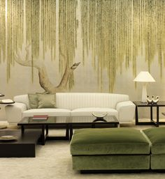 CreativeHunt - De Gournay - should that be in guest room? I see i pinned it a lot. I think I like it because its filmic