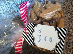 Animal theme baby shower favors!