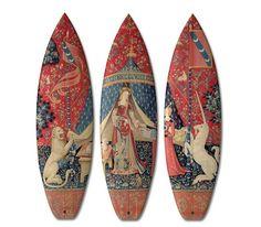 Skates e pranchas de surf que são – literalmente – obras de arte
