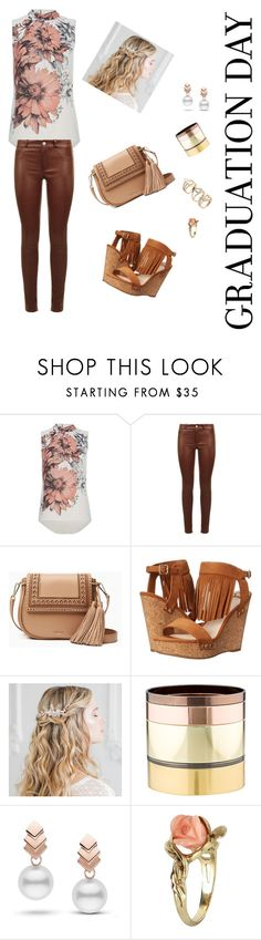 """Graduation Day"" by tanz-mim ❤ liked on Polyvore featuring SET, Kate Spade, Fergalicious, Gemma Redux, Escalier and Vintage"