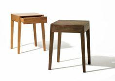 Eleganter und schlichter Nachtisch aus Holz: Theo. #Nachtisch #Holz #modern