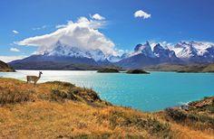 Pehoe Lake, Patagonia Chile