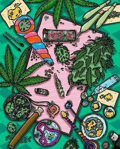 Haha who would really smoke with some marijuana leaves just sitting there lol weedporn weed marijuana pot cannabis stonerwithaboner stoner stonermemes thc Arte Dope, Dope Art, Medical Marijuana, Marijuana Leaves, Stoner Art, Weed Art, Geniale Tattoos, Diy Inspiration, Psychedelic Art