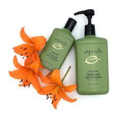 Nu Skin, Epoch, Shampoo And Conditioner, Soap Dispenser, Bottle, Products, Flower, Soft Hair, Moisturize Hair