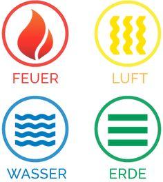 22 besten feuer wasser luft erde bilder auf pinterest for Raumgestaltung analyse