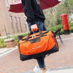 2017 नई शैली फैशन महिला यात्रा बैग बड़ी क्षमता पुरुष सामान निविड़ अंधकार पोर्टेबल यात्रा बैग