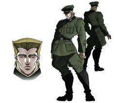 Rudolf von Stroheim [Model Sheet] #JoJo