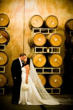Beautiful Winery Wedding
