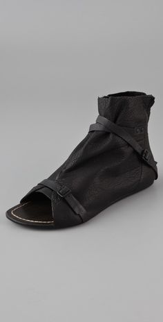 Joe's Jeans Hanover Open Toe Booties, Spring Summer 2011 #thestylecure.com #urbanoutfitters #shopbop
