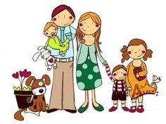 Image result for familias en las escuelas clipart