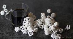 Nous avions déjà parlé des créations en sucre imprimé en 3D de The Sugar Lab (The Sugar Lab – L'imprimante 3D qui fonctionne au sucre). Aujourd'hui K