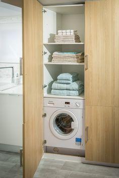 Ana Antunes | Cozinha | Kitchen | Organizing Ideas | Storage Ideas | Modern | Contemporary | Home | Interior | Design | Laundry | Washing Machine