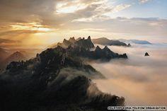 Gongryong Ridge, Seorak Mountain, Gangwon-do, Korea