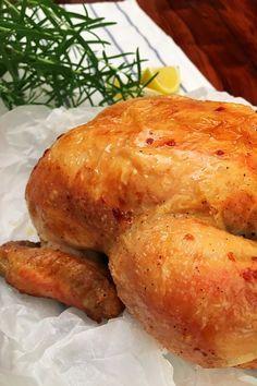 Ilyen finom sült csirkét még nem ettél! Paleo, Food And Drink, Turkey, Potatoes, Bread, Chicken, Vegetables, Cooking, Sweet