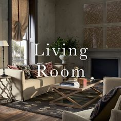 Inspiration for sitting rooms of all shapes and sizes from OKA. From green to grey, books to art and everything in between - and of course, the all-important sofa. Sitting Rooms, Everything, Sofa, Shapes, Living Room, Grey, Books, Inspiration, Lounges