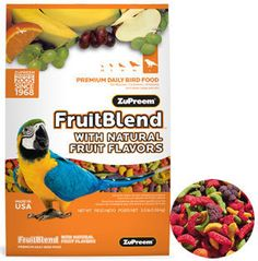 Zupreem Fruit Blend Large 3.5