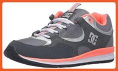 DC Women's Kalis Lite W Skate Shoe, Grey/Light Grey, 6 M US - Athletic shoes for women (*Amazon Partner-Link)