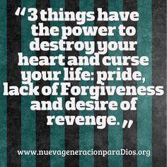 3 things destroy love