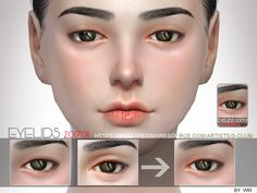Created By S-Club S-Club WM Skin Detail Eyelid 201701 Created for: The Sims 4 Eyelid to make the sims's eyes has more details. Sims 4 Cc Eyes, Sims Cc, Sims 4 Controls, The Sims 4 Skin, Sims 4 Cc Kids Clothing, Sims 4 Cc Makeup, Sims 4 Characters, Double Eyelid, Korean Face