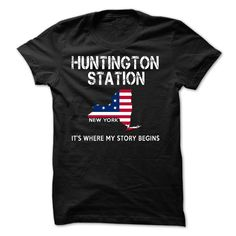 HUNTINGTON STATION LOVE T-Shirts, Hoodies. SHOPPING NOW ==► https://www.sunfrog.com/LifeStyle/HUNTINGTON-STATION-LOVE-X2.html?id=41382