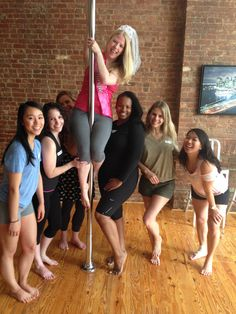 Best Bachelorette Pole Dancing Parties @Exotic Dance Party Central NYC #bachelorettepartynyc, #bachelorettepartyideasnyc, #poledancingpartynyc