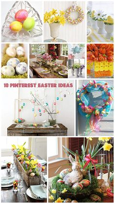 10 Pinterest Easter Decorating Ideas and Crafts