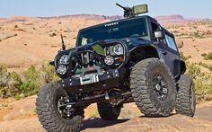 Jeep ready for Battle-War