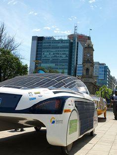 Solar Cars get ready to Race across Australia