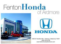 https://flic.kr/p/GSQrFi   Fenton Honda of Ardmore Customer Review   every thing was handled great  toni, deliverymaxx.com/DealerReviews.aspx?DealerCode=A687&R...