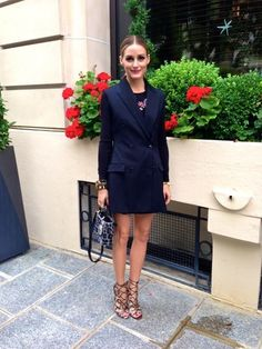Olivia Palermo at Dior fashion show