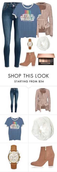 """Untitled #373"" by ealiceaoconnor ❤ liked on Polyvore featuring Haider Ackermann, Junk Food Clothing, Betsey Johnson, Michael Kors, River Island and Clarins"
