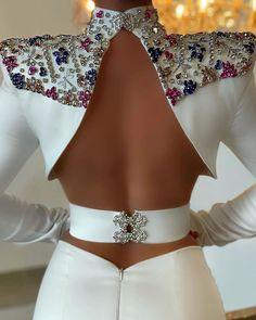 Elegant Dresses Classy, Classy Dress, Classy Outfits, Pretty Outfits, Pretty Dresses, Designs For Dresses, Fantasy Dress, White Fashion, Beautiful Gowns