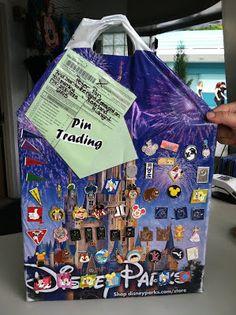 Disney Pin Trading board at Disney's Hollywood Studios!