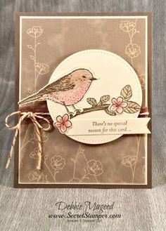 By Debbie Mageed, Best Birds, Special Reason, Falling in Love, Stampin Up