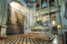 Venezia: Basilica di S. Giorgio Maggiore - L'altare maggiore  [(c) Maurizio Fecchio]