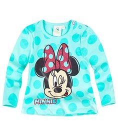 Disney Minnie Babies Camiseta mangas largas - Turqueza - 12M #camiseta #starwars #marvel #gift