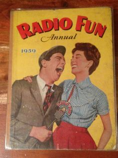 1959 Radio Fun Annual Norman Wisdom cover in good by CapeVintage Norman Wisdom, Durham Museum, Cartoon Design, Classic Movies, Growing Up, 1960s, Cartoons, Comics, Film