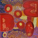 Ruby Tjangawa Williamson, Nita Williamson, Suzanne Armstrong (Australian; Aboriginal — Pitjantjatjara people, South Australia; Contemporary): Ngayuku ngura (My country) Puli murpu (Mountain range), 2012
