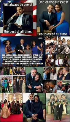 The Obamas - a priceless jewel for the USA!