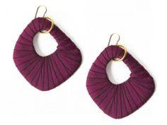 Hoop Earrings for Women from Lauren Wimmer Jewelry, Red