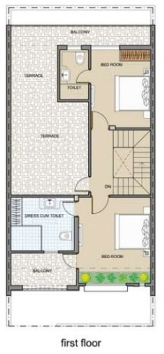 5325ground floor plan jpg 282 542 house plans pinterest